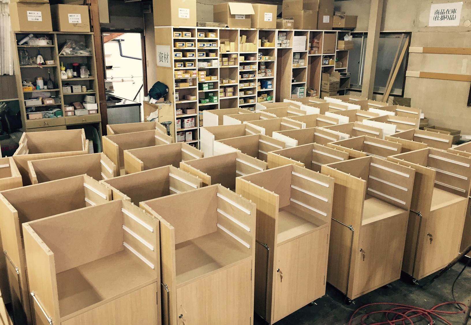 家具製作風景